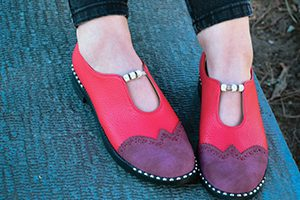 تولیدی کفش مصنوعی زنانه
