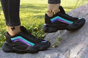 پخش کفش و کتونی اسپرت زنانه هولوگرام