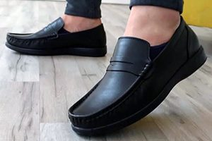 کفش چرم راحتی